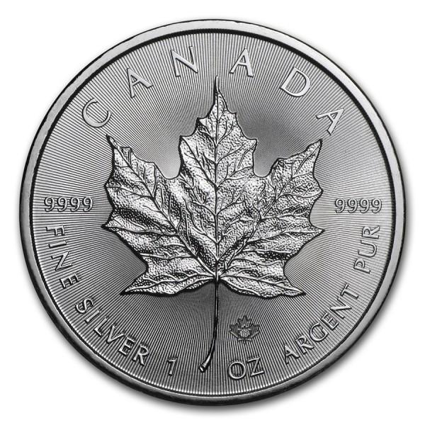 2018 1 Oz Canadian Maple Leaf