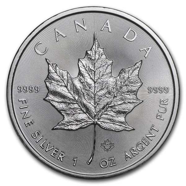 2019 1 Oz Canadian Maple Leaf