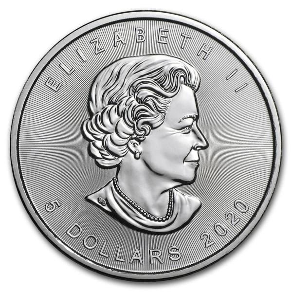 2020 1 Oz Canadian Maple Leaf