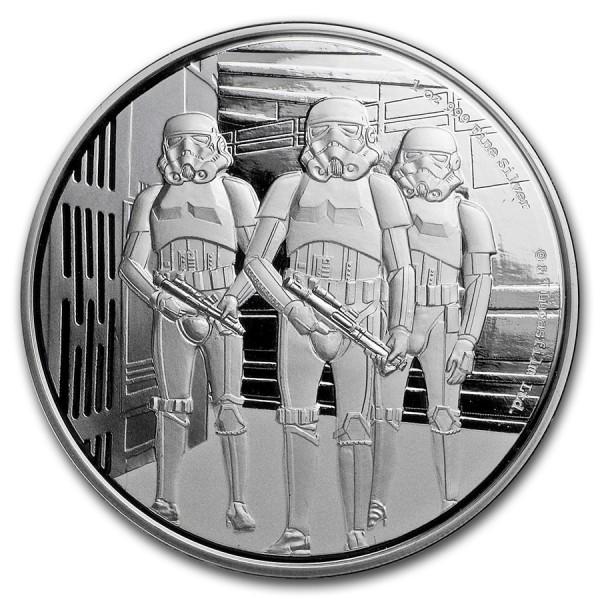 2019 1 Oz Niue Star Wars Clone Stormtrooper