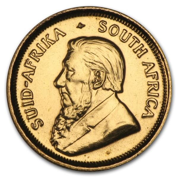 1981 1/10 Oz South Africa Gold Krugerrand