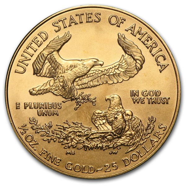 2002 1/2 Oz American Gold Eagle
