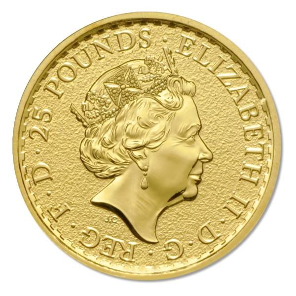 2017 1/4 Oz UK Gold Britannia