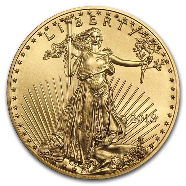 2018 1/10 Oz American Gold Eagle