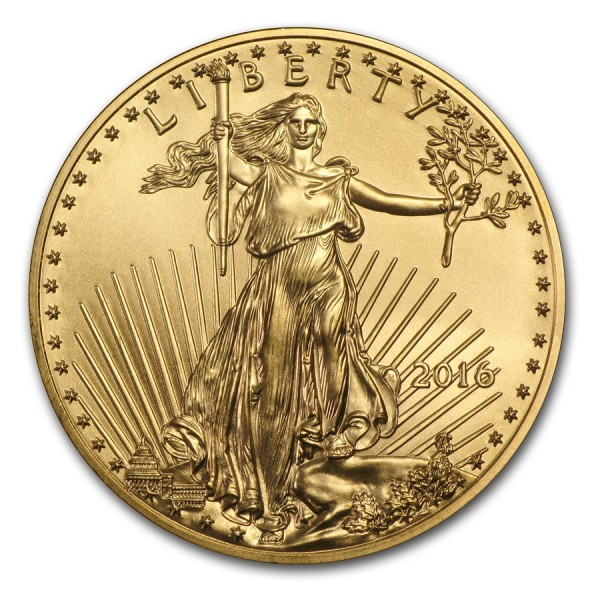 2016 1/4 Oz American Gold Eagle