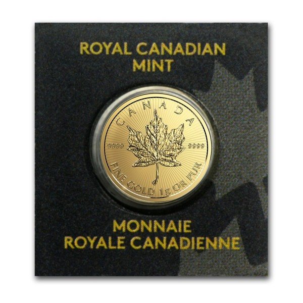 2017 1g Gold Maple Leaf (in Assay)