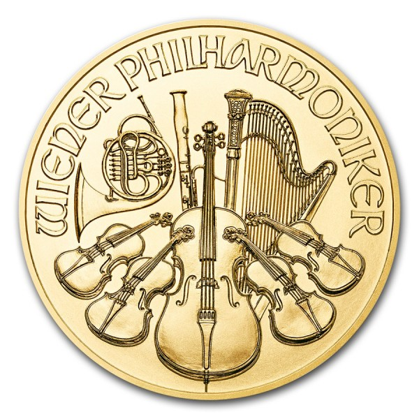 2017 1 Oz Austrian Gold Philharmonic