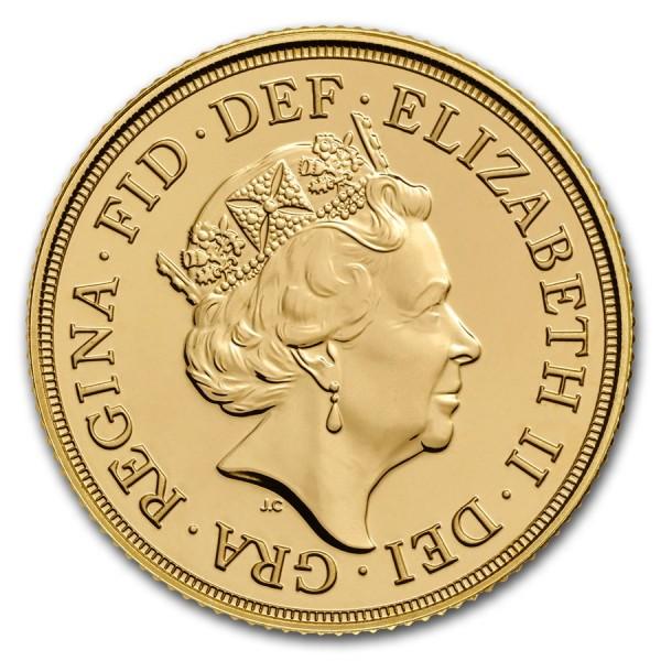 2018 UK Gold Sovereign Elizabeth II