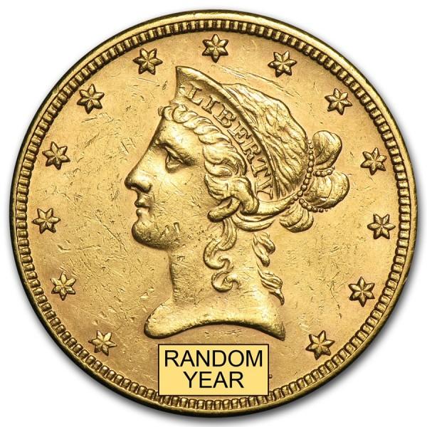 Ten Dollars Liberty Gold Eagle (Random Year)
