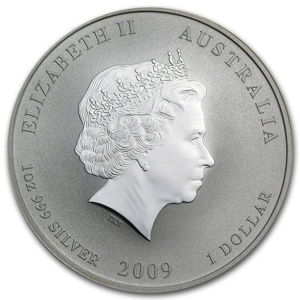 2009 1 Oz Australian Lunar Ox