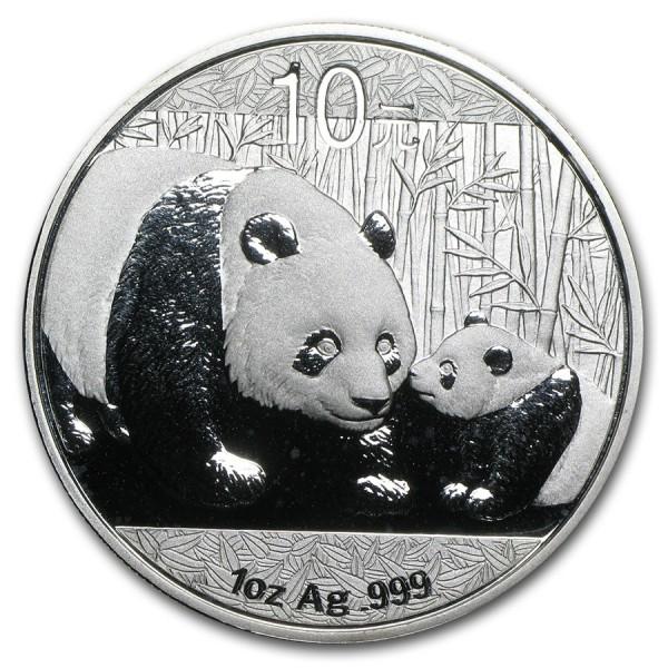 2011 1 Oz Chinese Panda