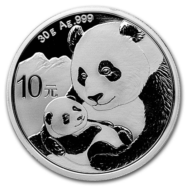 2019 30g Chinese Panda