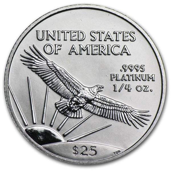 1999 1/4 Oz American Platinum Eagle