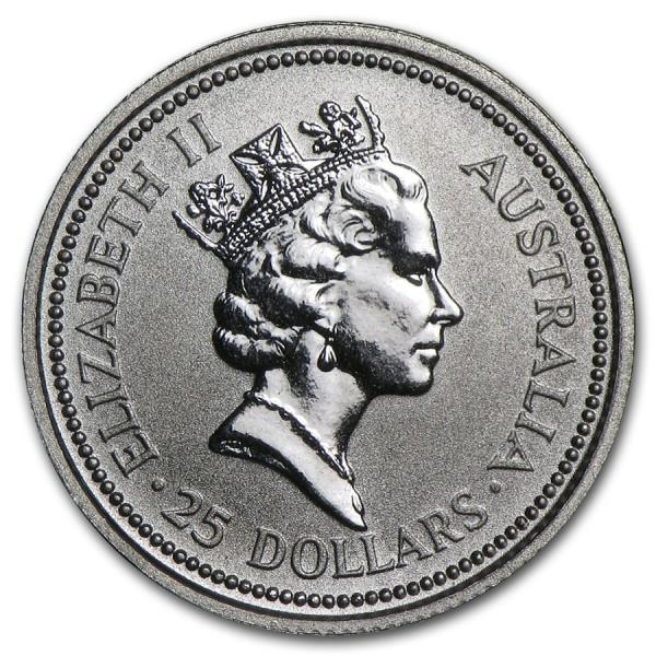 1991 1 4 Oz Australian Platinum Koala