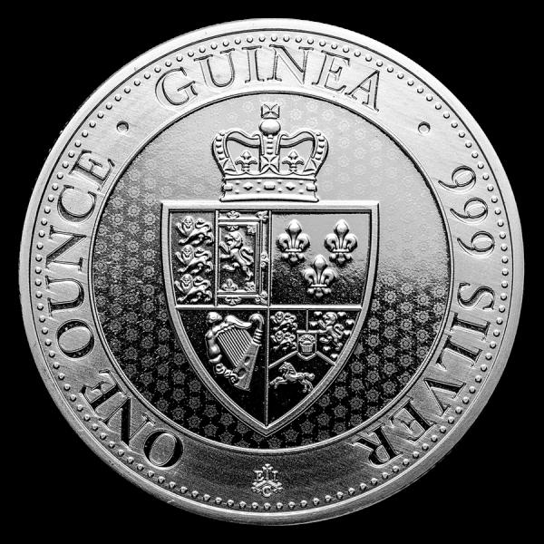 2019 1 Oz St Helena Spade Guinea Shield