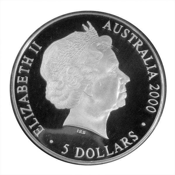 2000 1 Oz Australian Koala Sydney Olympics