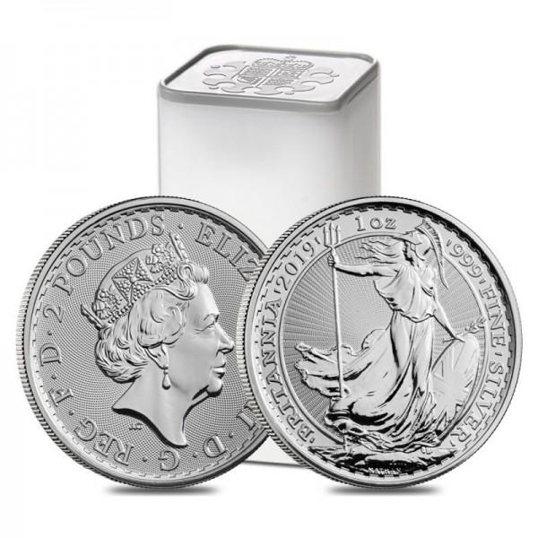 1 Oz UK Silver Britannia (Random Year)