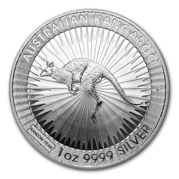 25 x 1 Oz Australian Silver Kangaroo (Random Year)