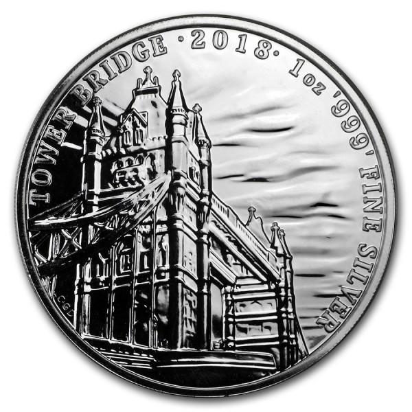 2018 1 Oz UK Landmarks (Tower Bridge)