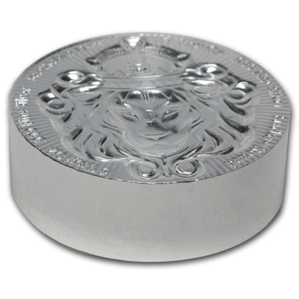 5 Oz Stackable Scottsdale Silver Round